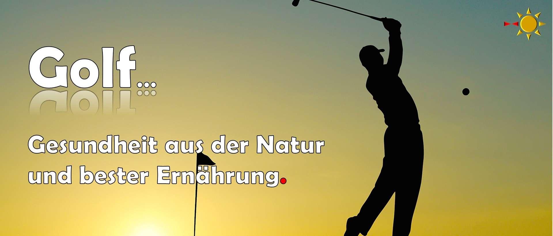 golf gesund natur